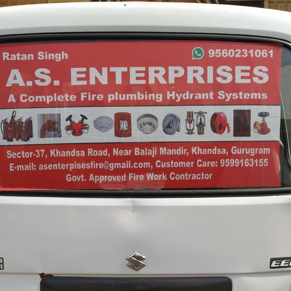 A s enterprises fire